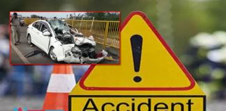 Five died as car accdient in Prakasam district