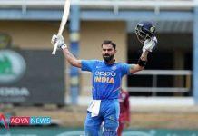 IND vs WI 3rd ODI :Virat Kohli Becomes First Player to Score 20000 International Runs in a Decade