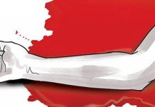 Tamilnadu :Man slits wrist, gifts blood to girlfriend before killing self in chennai