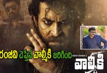 Valmiki Movie Started with Chiranjeevi Approval
