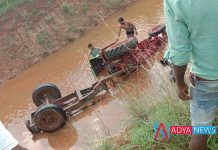 Four killed tractor falls in ananthapuram