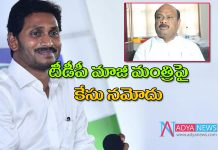 Case file against former tdp minister Ayyannapatrudu controversial comments on ap cm ys jaga