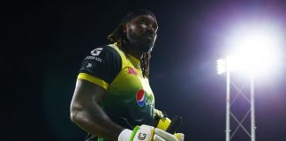 CPL 2019:Chris Gayle's Ton in Vain as Patriots Complete Highest Ever CPL Chase