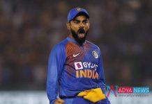 IND vs SA 2nd T20I :Angry Virat Kohli breaks stumps in 2nd T20I at Mohali