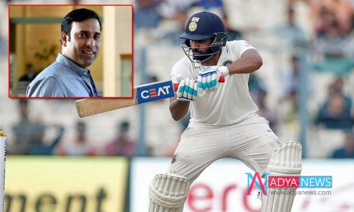 IND vs SA Test Series :Laxman warns Rohit to not make mistakes that he made when asked to open innings