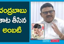 Ambati Rambabu Comments on Chandrababu