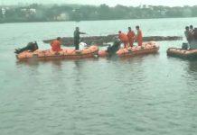 MP :Boat capsizes during Ganpati Visarjan in Bhopal, 11 dead