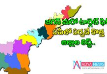 CM YS Jagan clarity on New district in ap