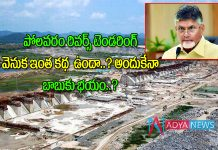 Polavaram project rivers tendaring issue