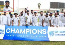 India vs West Indies 2nd Test :India beat WI by 257 runs, win series 2-0