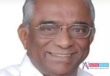 Telangana Ex Minister and trs leader Cheruku Muthyam Reddy Passes Away
