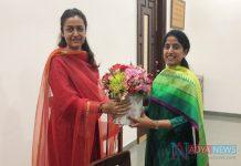 Super Star Mahesh Babu wife Namrata meets AP CM YS Jagan wife Bharathi
