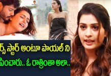 Paayal Rajput I Was Heavily Trolled After RDX Love Teaser Release