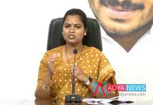 YSRCP MLA Vidadala Rajini fire on chandrababu