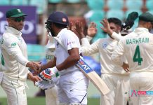 IND vs SA 1st Test : India lose two wickets against southafrica