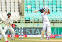 IND vs SA 1st Test : Hitman Rohit sharma brings up his 11th test 50