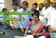 AP Govt issued GO mla roja salary as a apiic chairman