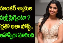 is anchor shyamala again become pregnant