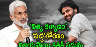 YCP MP Vijay Sai Reddy Nitya Kalyanam Comment on Pawan Kalyan goes Viral