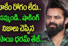 mega hero sai dharam tej about his character in prathi roju pandage