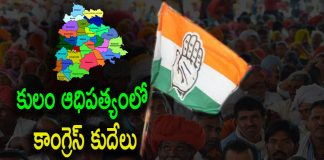 Spilt in Telangana Congress with Caste Domination