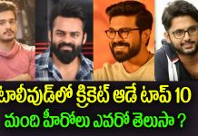 top 10 cricketers in tollywood