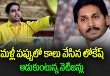 netizens trolls ex minister nara lokesh tweet on nrc
