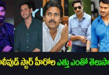 Tollywood stars height
