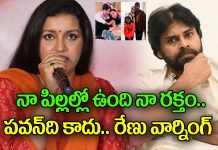 actress renu desai got hurted for netizen comment on ex husband pawan kalyan