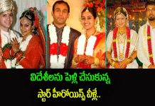 tollywood heroines Husbands