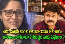 Nagababu On about Anasuya