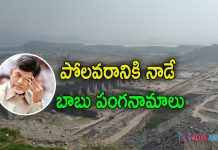 Chandrababu Neglected Polavaram Project
