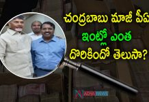 Complete report Overv IT Raids on Chandrababu Former PS Srinivasa Rao