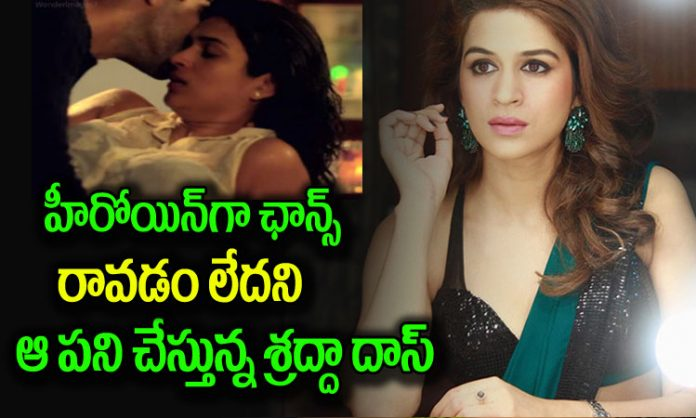 Shraddha Das On About Her Role In Upcoming Film