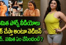 heroine namitha strong warning to netizen