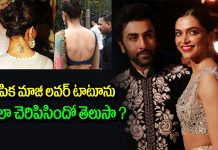 Deepika Padukone talks about Ranbir Kapoor tattoo