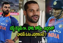 Opener Shikhar Dhawan Picks The Better Captain Between Virat Kohli And Ms Dhoni