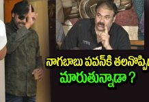 Mega fans worrying on nagababu incidents