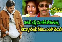Pawan Kalyan Remuneration for his First Film