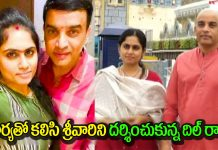 Dil raju Visited Tirumala for darshan