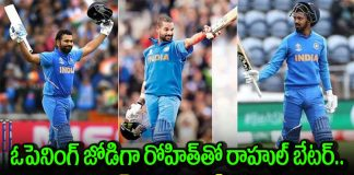 rohit sharma kl rahul should be first preference aakash chopra on india's t20i opening pair
