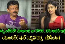 Director Ram Gopal Varma Praises Anchor In Interview