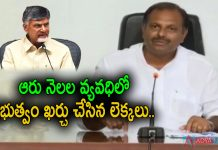 Chandrababu making baseless allegations Says Srikanth Reddy