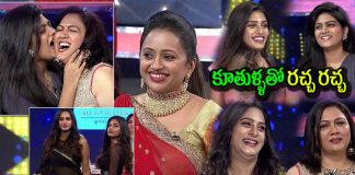 Hema And Esha, Surekha Vani And Supritha in Cash Show