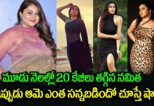Actress Namitha shocking weight loss journey