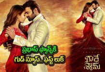 Radhe Shyam First Look Released