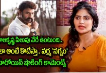 Naked Movie Heroine Shree Rapaka Aka Sweety Shocking Comments On Balakrishna