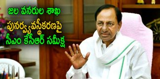 CM KCR Review Meeting on Reorganization of the water resources