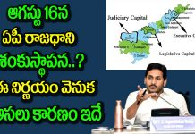 AP Govt Steps Forward Over Three Capitals Matter