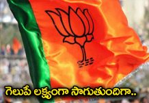 bjp partyin greater elections in hyderabad